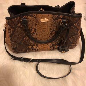 COACH Snakeskin Leather Bag NWOT